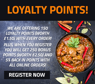 Register to earn loyalty points!