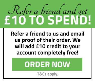 Get £10 to spend when you refer a friend!