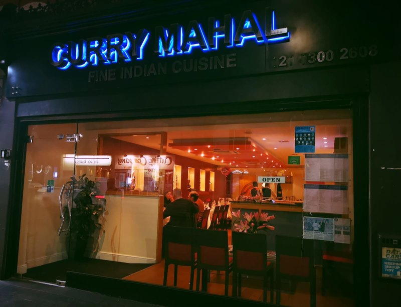 Curry Mahal Store Front